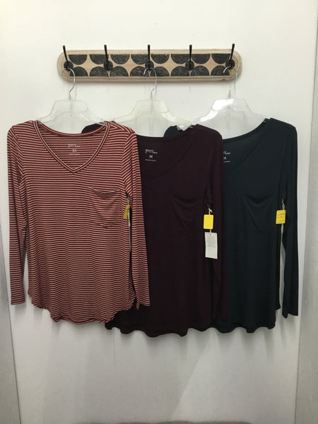 Grace & Lace - GL-070 - Long Sleeve Perfect Pocket Tee