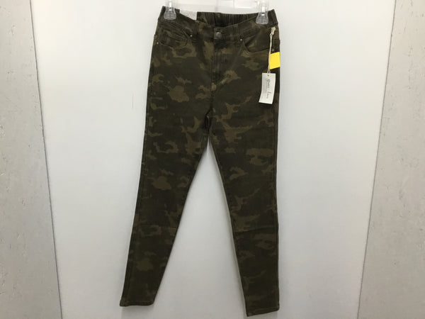 Grace & Lace - GL-077 - Camo Mid Rise Jeggings