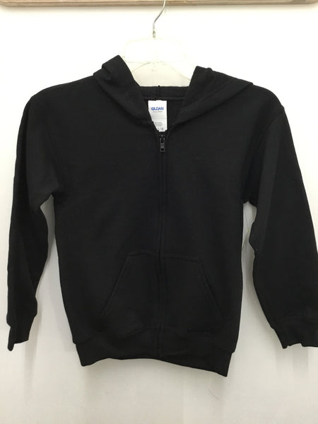 "TC-012 ""Kipling"" Zip-Front Hooded Sweatshirt"