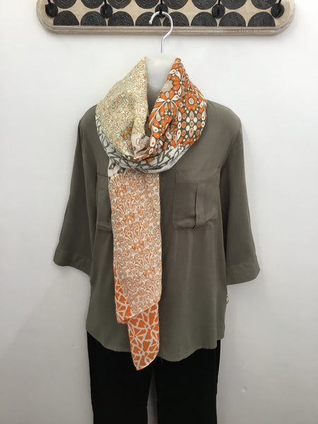 MD-011 Soya Concept Woven Scarf