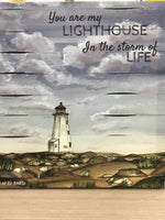 00903 - Eli Barsi Painting - Lighthouse