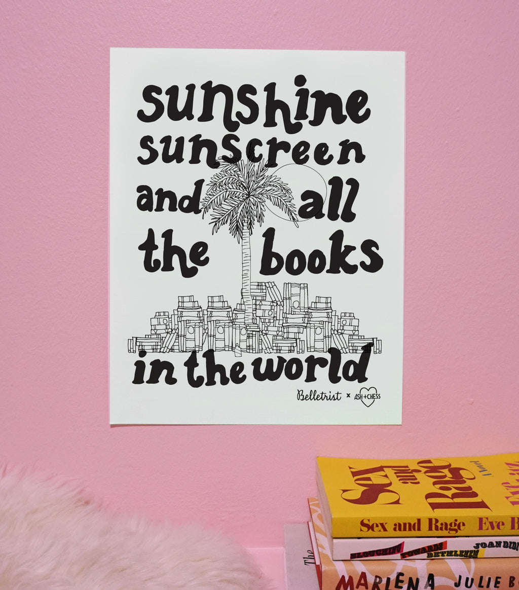 All The Books Art Print