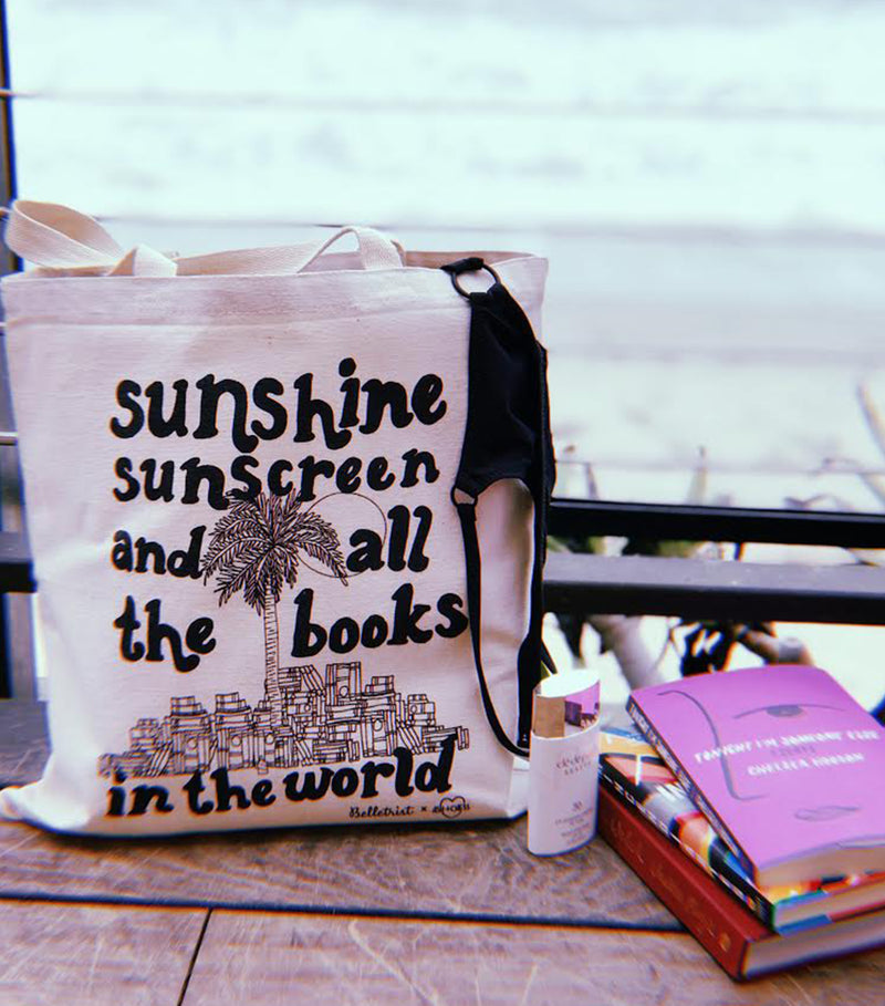 All The Books Tote Bag