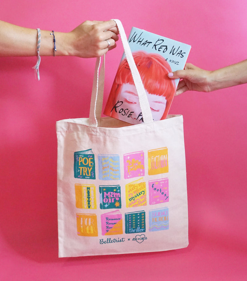 Belletrist Book Genres Tote