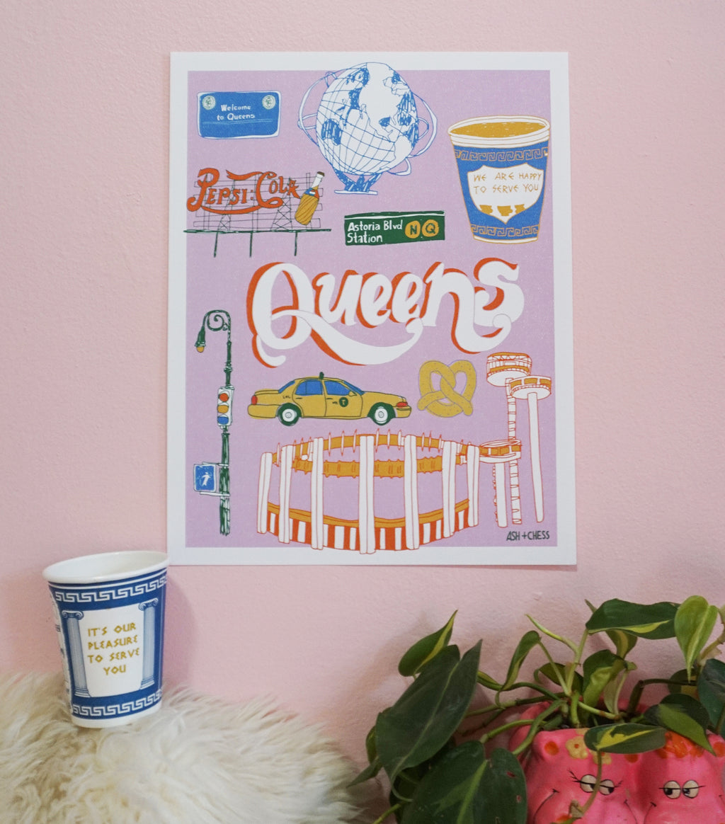 Cute Queens Art Print