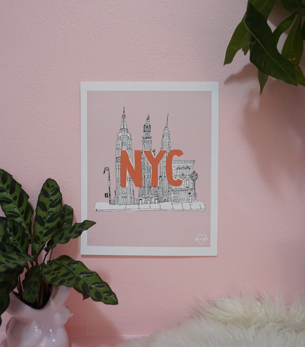 NYC Small Art Print
