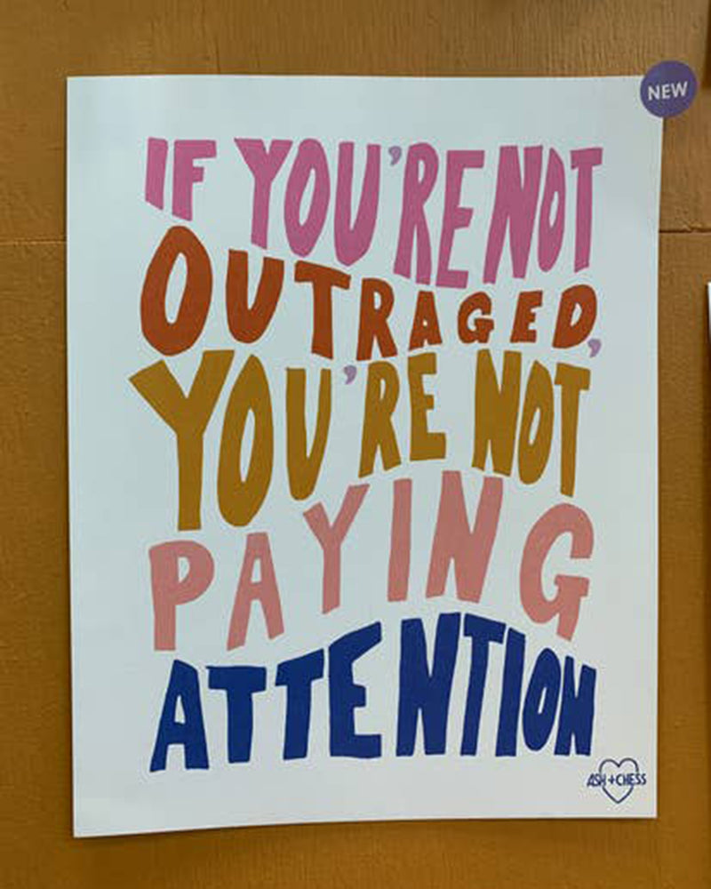 Outraged 11x14 Art Print