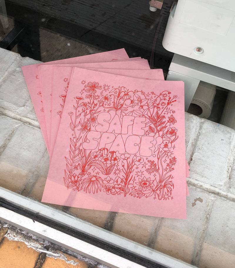 Boys Do Cry Risograph Print
