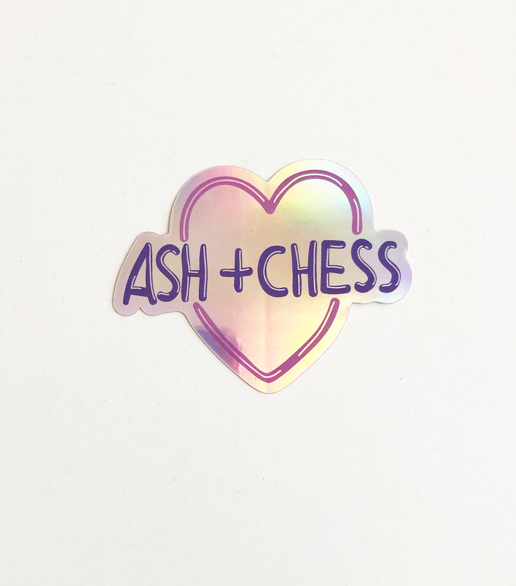 Ash + Chess Sticker