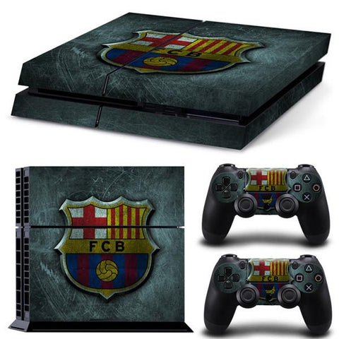 [ Best ] - Barcelona Sticker for PS4 Set