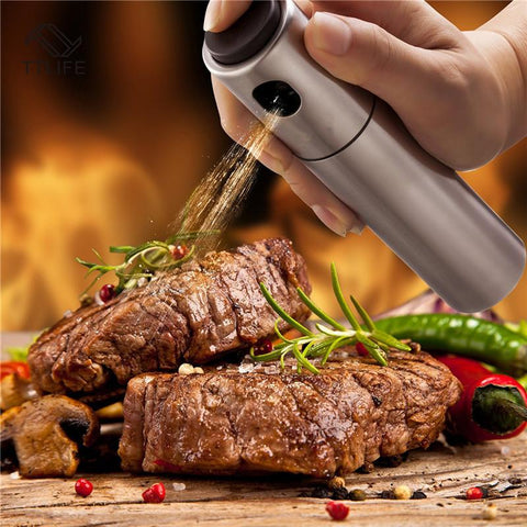 [ Best ] - Stainless steel barbecue spraying oil