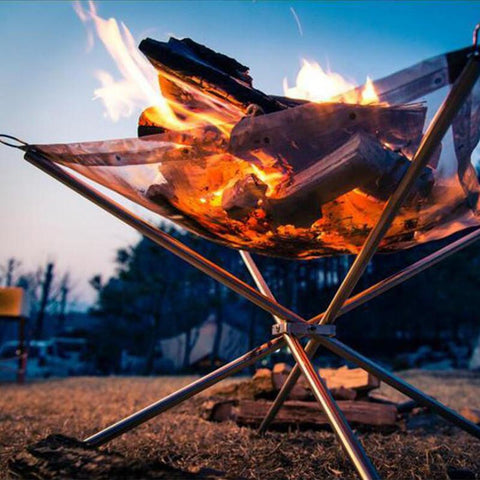 [ Best ] - Portable Outdoor BBQ Folding Stove