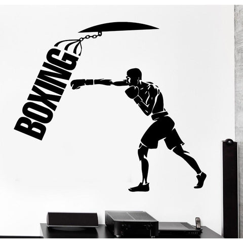 [ Best ] - Punching Bag Wall Sticker