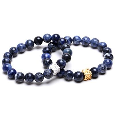Blue Nature Bead