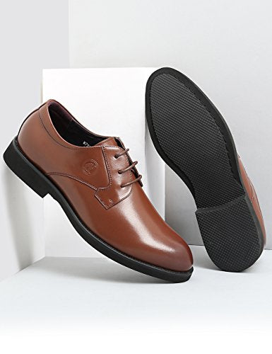Men Oxford Genuine Leather Classic Casual Lace-up Shoe