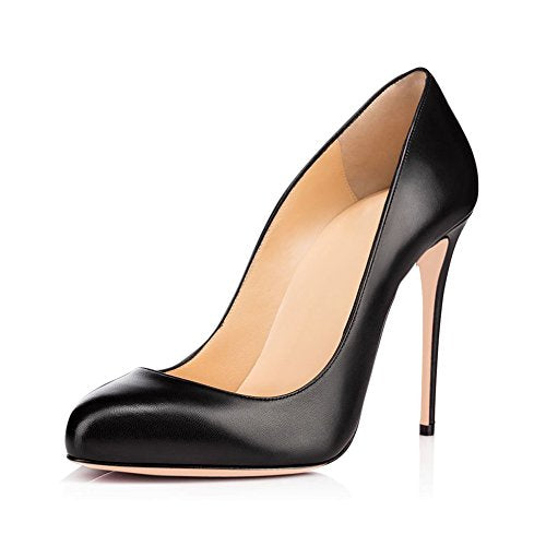 Stilettos Slip On High Heels 4.7 inches Thin Heel Classics Pumps