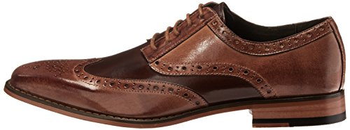 Men`s Wingtip Oxford, Tan/Brown