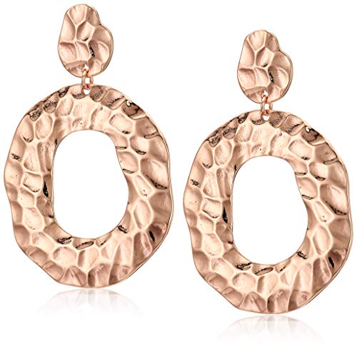 Rose Gold Hoop for Women Fashion