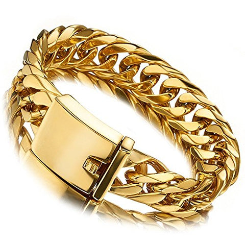 Bracelet  Stainless Steel Curb Chain for Men