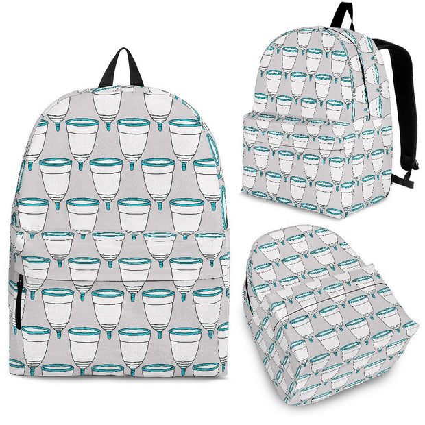 Menstrual Cups Backpack