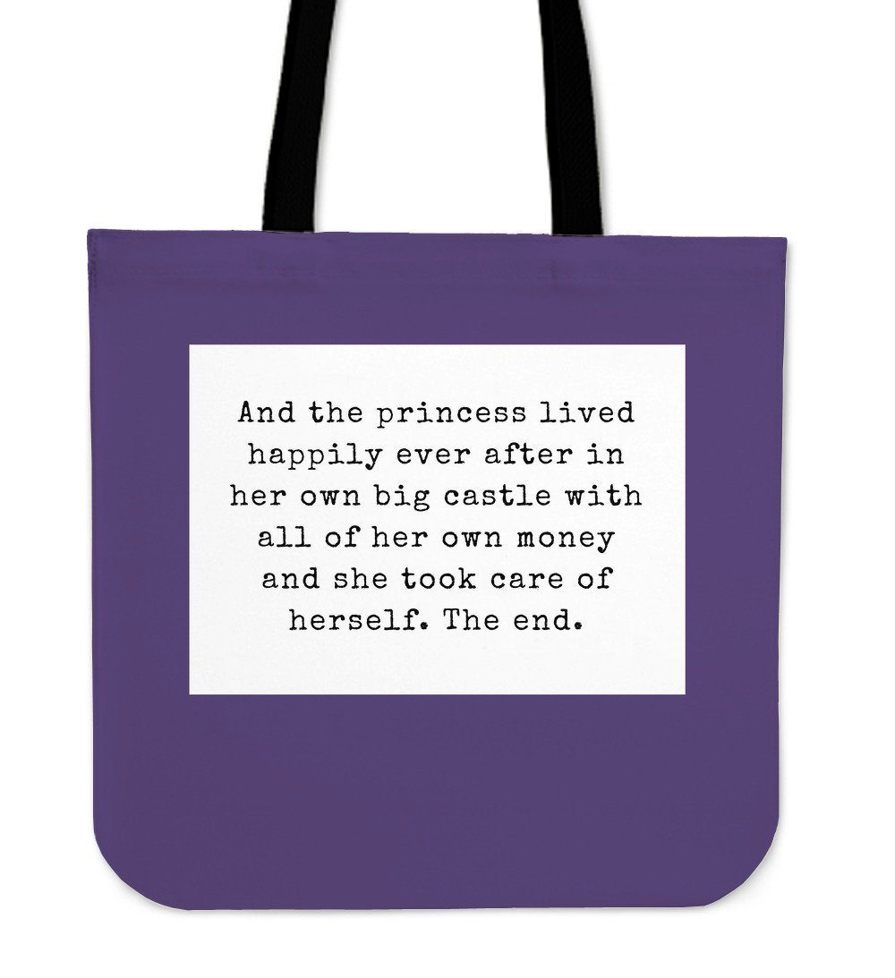 """She took care of herself. The end."" Tote"