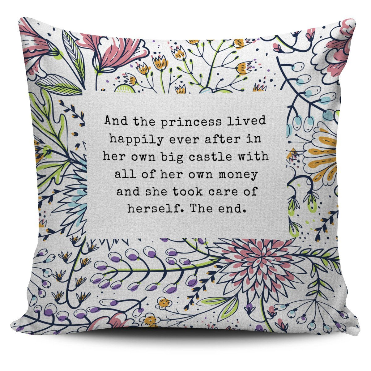 #FemPower Pillow Cover