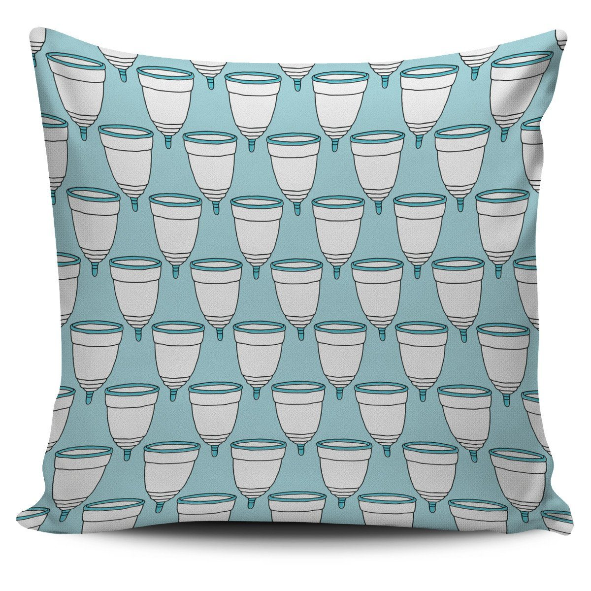 Menstrual Cups Pillow Cover