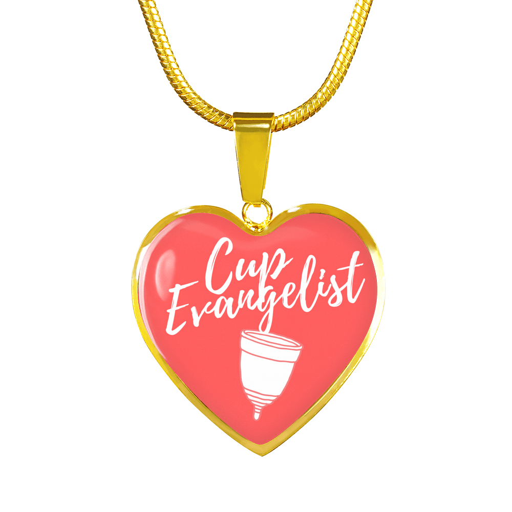 Cup Evangelist Luxury Bangle / Necklace - Red