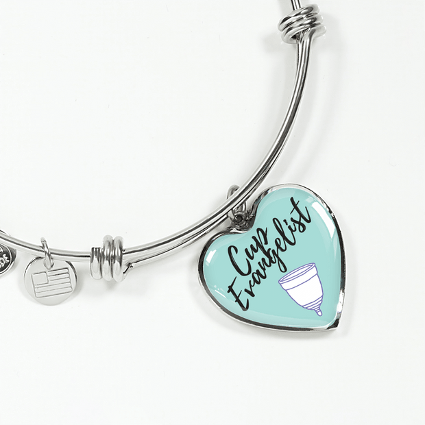 Cup Evangelist Luxury Bangle / Necklace - Blue