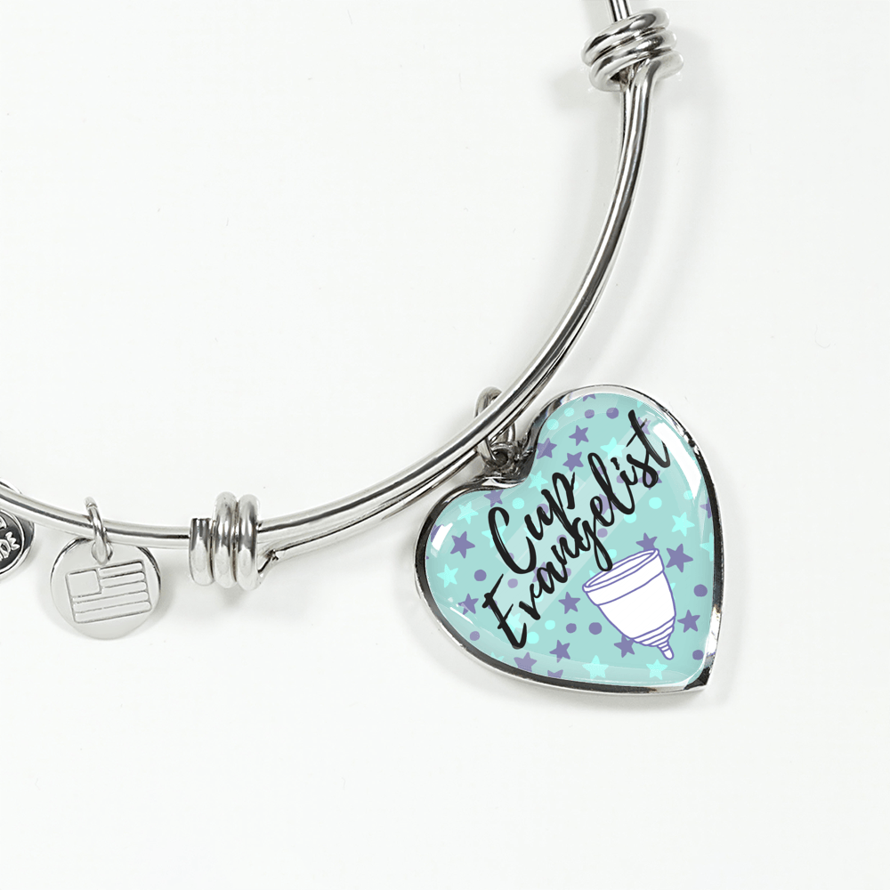 Cup Evangelist Luxury Bangle / Necklace - Blue Stars