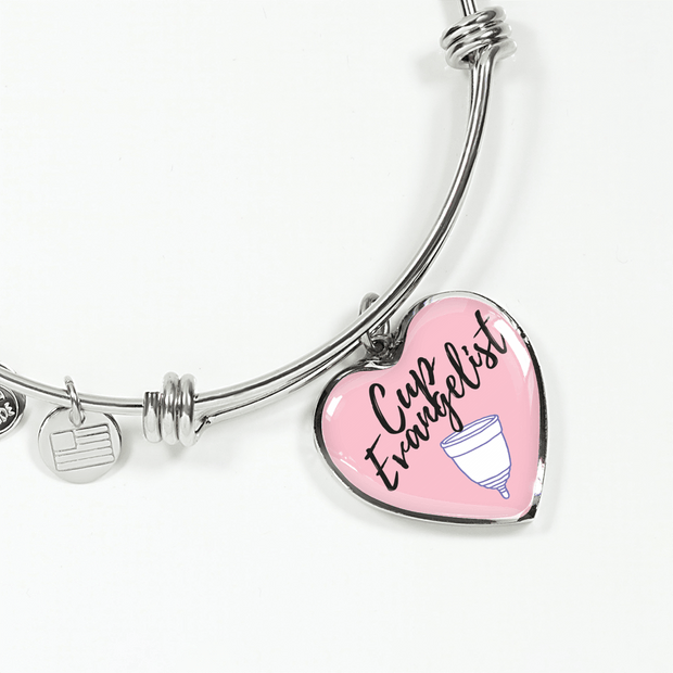 Cup Evangelist Luxury Bangle / Necklace - Pink