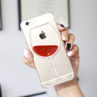 FREE! Sophisticated Glass iPhone Case For The Fashionista or Wine Connoisseur!