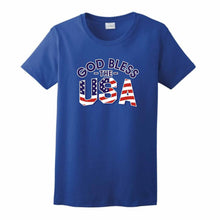 "CHISTIAN T SHIRTS ""GOD BLESS THE USA"""