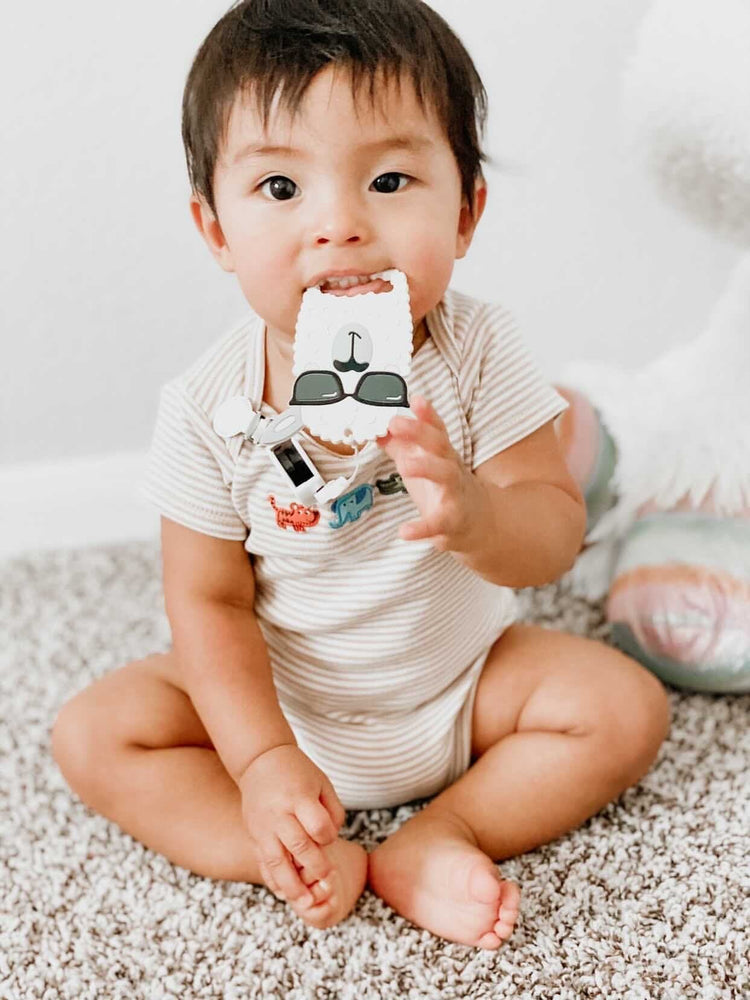 COMBO DEAL: New! RetractaClip (Pacifier Clips) & Teether Set - Little BaeBae
