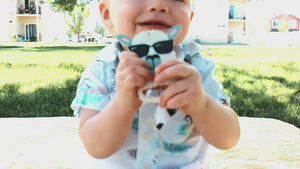 Load and play video in Gallery viewer, COMBO DEAL: New! RetractaClip (Pacifier Clips) & Teether Set - Little BaeBae