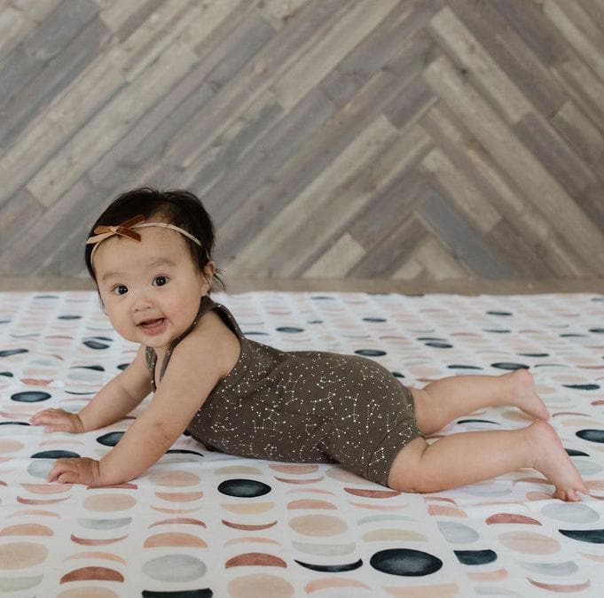 Load image into Gallery viewer, Lunar Phases | Mega | Padded Play Mat - Little BaeBae