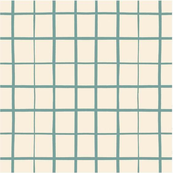 Grid in Teal | Nursing Pillow Cover - Little BaeBae
