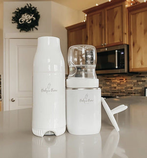 Portable Bottle Warmer Pro & Formula Dispenser Set - Little BaeBae