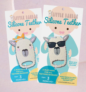 NEW! Silicone Llama Teethers - Little BaeBae