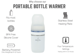 Portable Bottle Warmer Pro - Little BaeBae