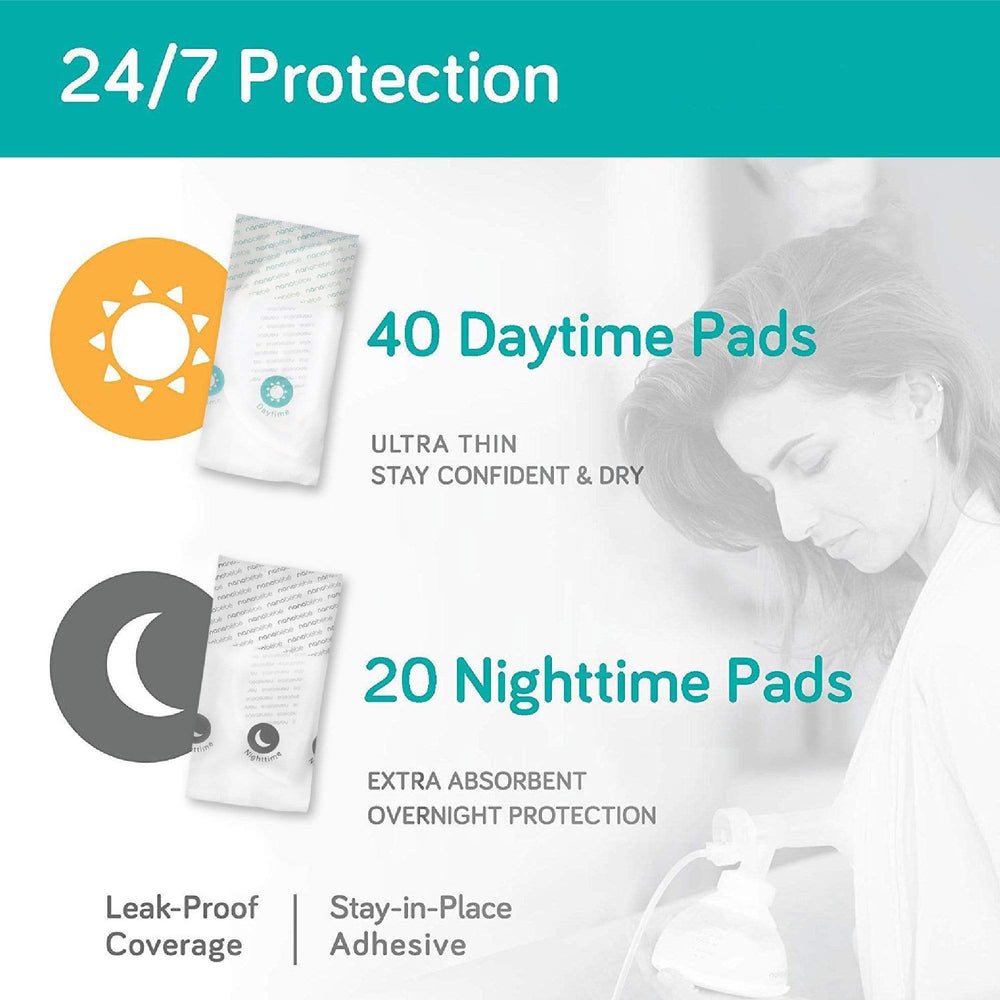 Day & Night Nursing Pads (80 Pads) - Little BaeBae
