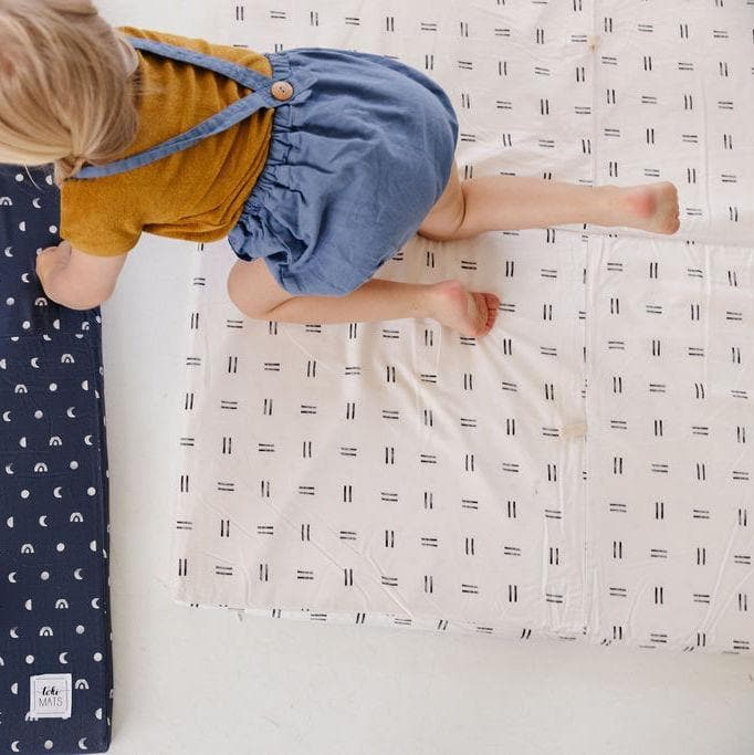 Mudcloth | Standard | Padded Play Mat - Little BaeBae