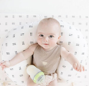 Mudcloth | Nursing Boppy Pillow Cover - Little BaeBae