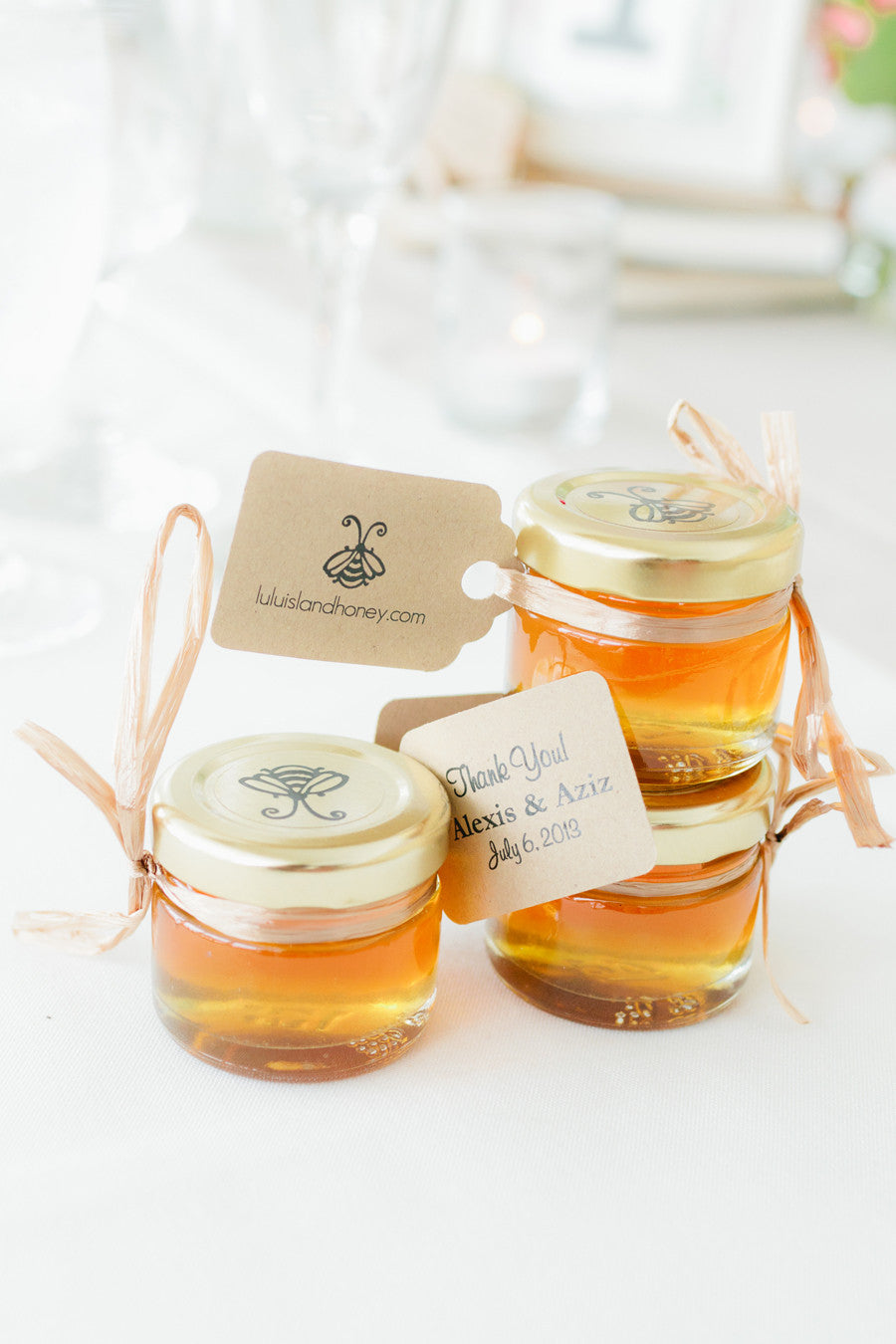 Honey Favours (30g - 1oz) CHARMERS – Lulu Island Favours - Canada