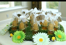 Favors featuring candles are subject to availability of wax.
