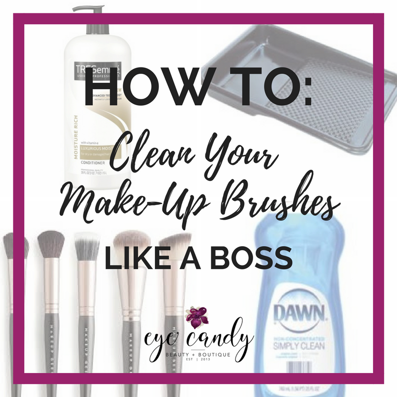 How To: Clean Your Makeup Brushes Like a BOSS