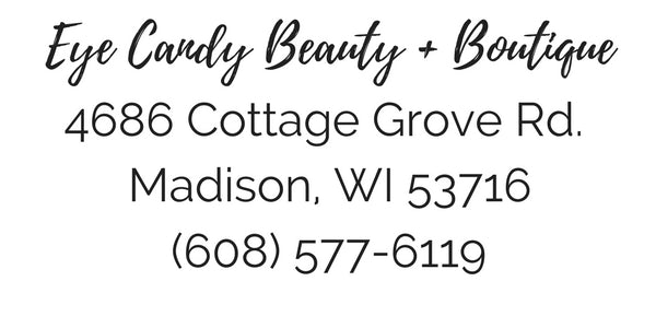 address phone number location eye candy beauty and boutique madison wisconsin