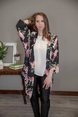 Mary Floral Kimono Eye Candy Beauty + Boutique