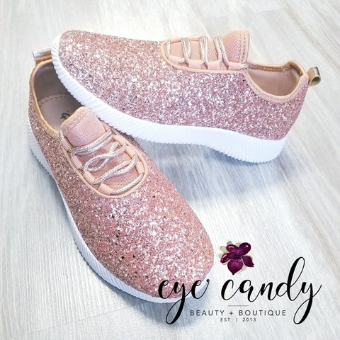 Glitter Sneakers - Eye Candy Beauty + Boutique