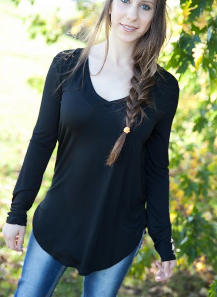 Alice Long Sleeve Tee - Eye Candy Beauty + Boutique